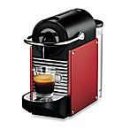 Nespresso® Pixie Espresso Machine in Dark Red