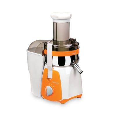 Kuvings® Centrifugal Juicer in White/Orange