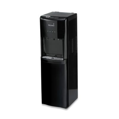 Primo Bottom Load Hot and Cold Water Dispenser in Black