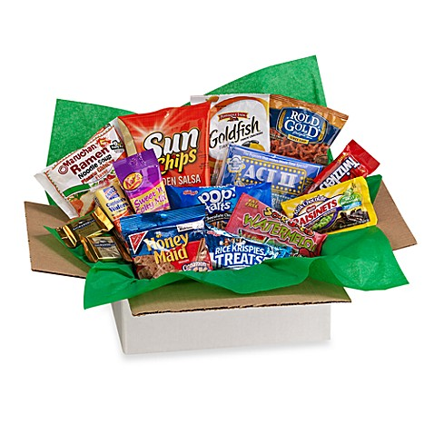 Campus & Beyond® Library Munchies College Care Package
