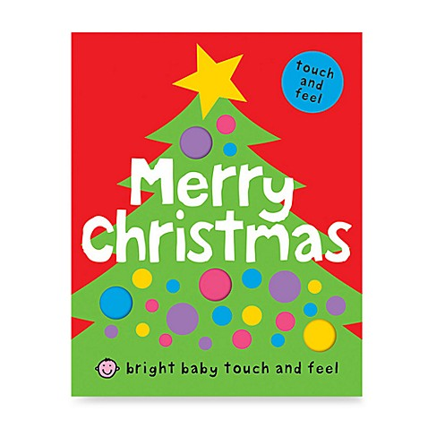 Bright Baby Touch & Feel Merry Christmas Board Book