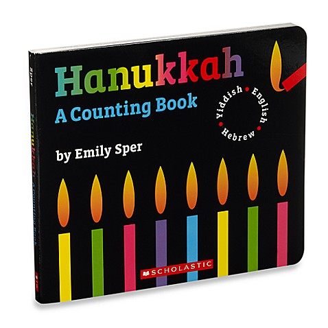 Hanukkah: A Counting Book in English, Hebrew and Yiddish