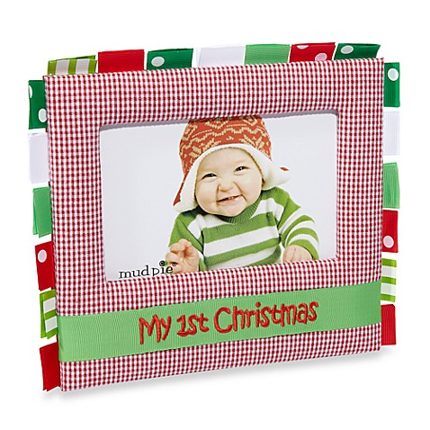 Mud Pie 174 My First Christmas 4 Quot X 6 Quot Frame Bed Bath Amp Beyond