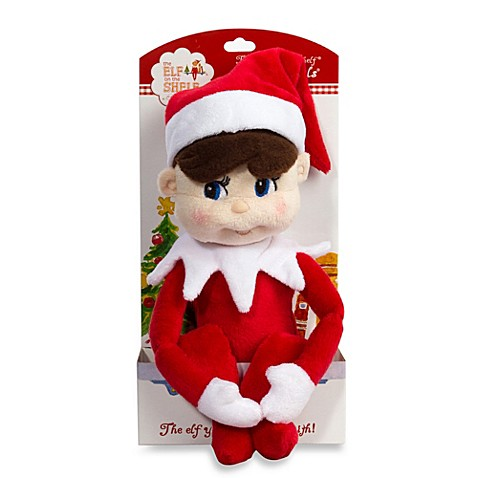 The Elf On The Shelf 174 Boy Plushee Pal In Light Skin Tone