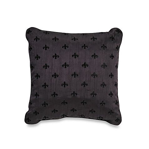 Royal Heritage Home® Adare Fleur-De-Lis Square Throw Pillow