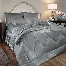 Satin Luxury 4-Piece Comforter Set
