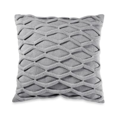 Thalia Knit Square Toss Pillow