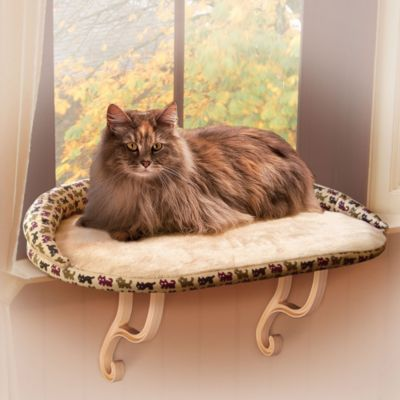 Deluxe Kitty Sill™ with Bolster