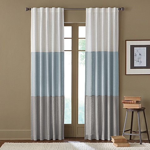 "Sirocco 95"" Rod Pocket/Back Tab Window Curtain Panel"