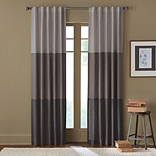 Sirocco Rod Pocket/Back Tab Window Curtain Panel