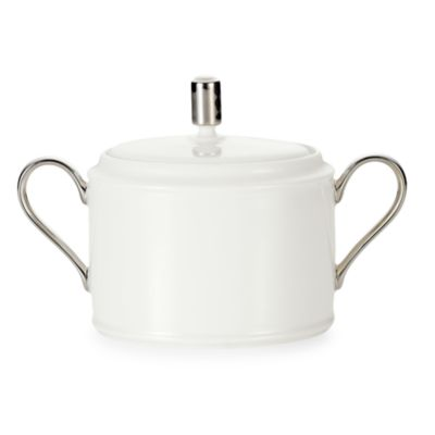 Noritake® Maestro 11 1/2-Ounce Covered Sugar Bowl with Round Handle