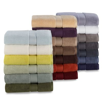 Kenneth Cole Reaction Home Bath Towel in Snow