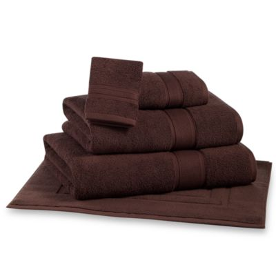 Kenneth Cole Reaction Home Washcloth in Espresso