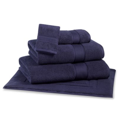 Kenneth Cole Reaction Home Wash Cloth in Midnight
