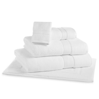 Kenneth Cole Reaction Home Collection Bath Sheet in Snow