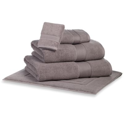 Kenneth Cole Reaction Home Bath Sheet in Gunmetal