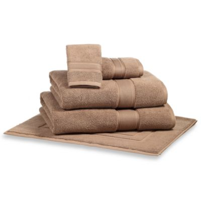 Kenneth Cole Reaction Home Wash Cloth in Dark Khaki