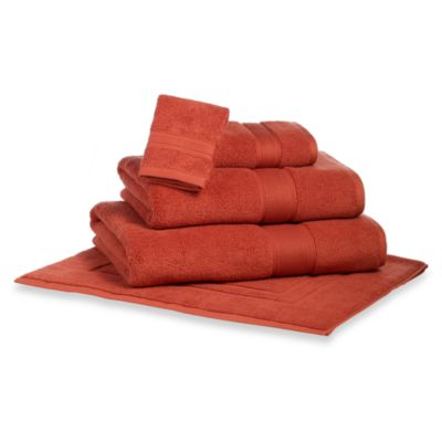 Kenneth Cole Reaction Home Collection Wash Cloth in Firebreak
