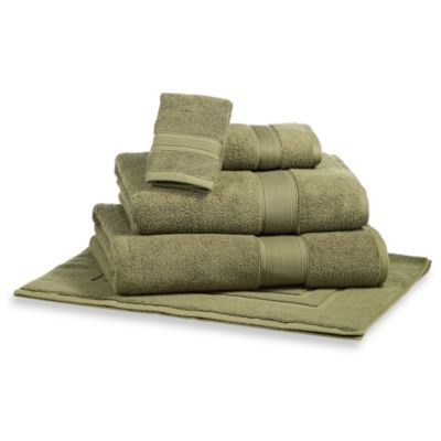 Kenneth Cole Reaction Home Collection Wash Cloth in Urban Moss