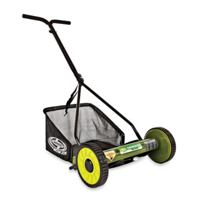 Sun Joe MJ500M 16-Inch Reel Mower w/Catcher