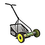 Sun Joe®  MJ500M 16-Inch Reel Mower w/Catcher