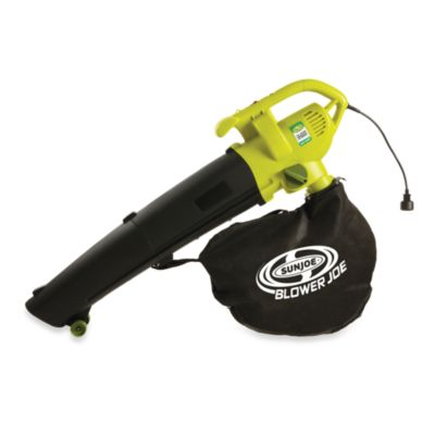 Sun Joe SBJ604E Blower Joe 3-in-1 Electric Blower Vacuumand Leaf Shredder