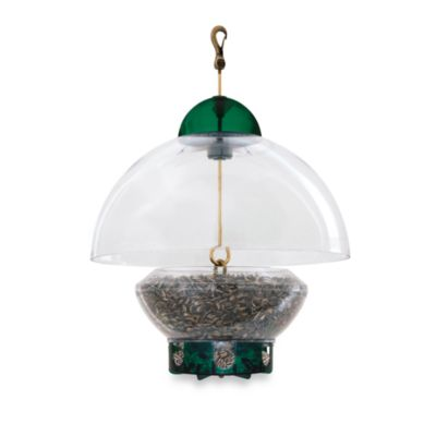 Droll Yankees® 15-Inch Big Top Squirrel-Proof Green Bird Feeder