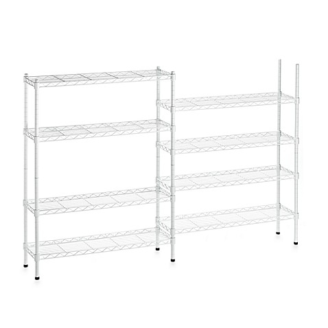 Storage Solutions 8-Tier Multi-Purpose Shelf System