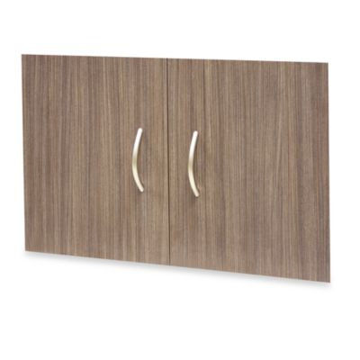 Organized Living freedomRail® Big-O Box Door Set in Driftwood