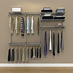 Organized Living freedomRail® 7-Foot Nickel Ventilated Closet Kit
