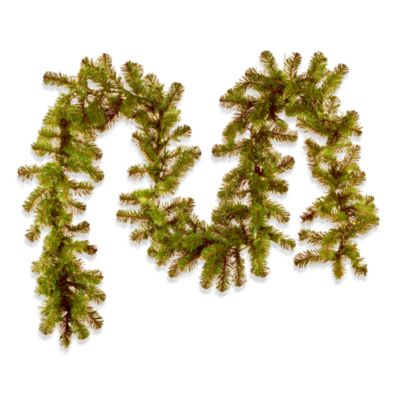 Colorado Pine 9 Foot Pre-Lit Garland with Clear Lights