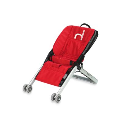 babyhome® Onfour Bouncer in Red