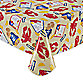 Crab Shack 70-Inch Round Vinyl Umbrella Tablecloth