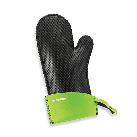 Duncan Kitchen Grips Extendable Cuff  Small Oven Mitt in Lime