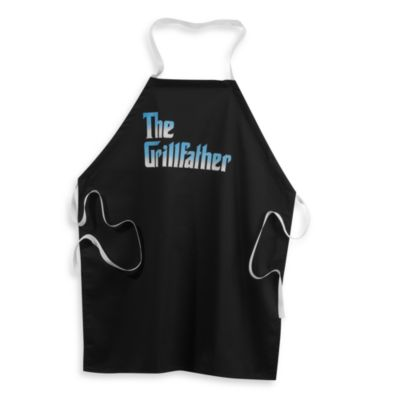 The Grillfather Apron in Black