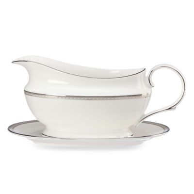 Lenox® Murray Hill Gravy Boat and Stand Set