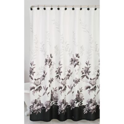 Lenox® Moonlit Garden Shower Curtain