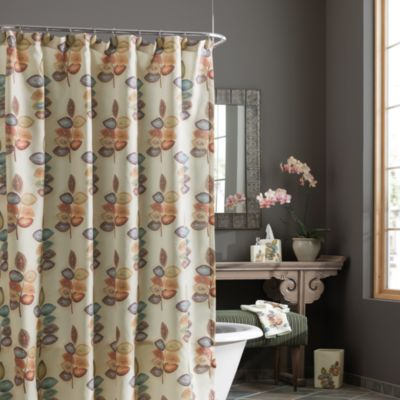 Croscill® Mosaic Leaves Shower Curtain