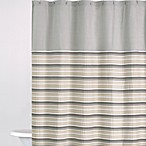 DKNY Sahara 72-Inch x 72-Inch Fabric Shower Curtain in Grey
