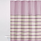 DKNY Sahara 72-Inch x 72-Inch Fabric Shower Curtain in Mauve
