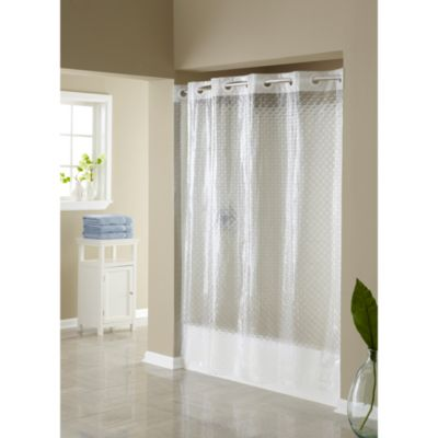 Hookless® 3D Diamond 71-Inch x 74-Inch Shower Curtain