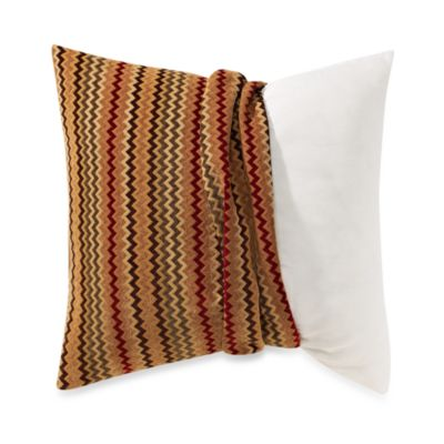 Make Your Own Pillow Cover in Ric Rac Red