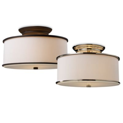 ELK Lighting Lureau 2-Light Semi-Flush Mounted Ceiling Lamps