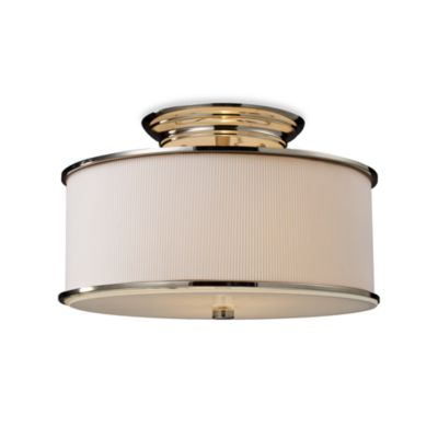 ELK Lighting Lureau 2-Light Semi-Flush Mounted Ceiling Lamp in Polished Nickel