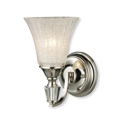 ELK Lighting Trump Home™ Lincoln Square 1-Light Sconce in Polished Nickel