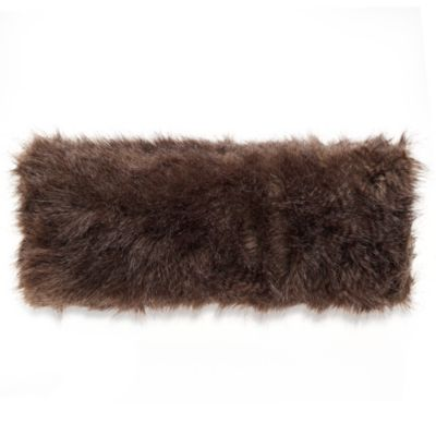 Fox Long Hair Oblong Toss Pillow