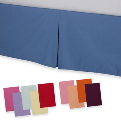 smoothweave™ Tailored California King Bed Skirt in Blue