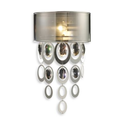 ELK Lighting Parisienne 1-Light Sconce in Silver Leaf Finish