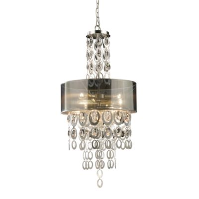 ELK Lighting Parisienne 3-Light Pendant in Silver Leaf