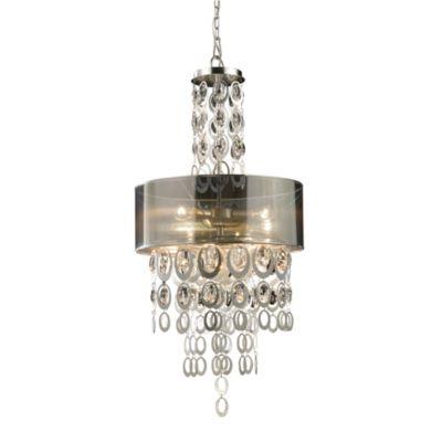 ELK Lighting Parisienne 3-Light Pendant in Silver Leaf